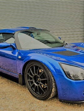 VX220 / Opel Speedster aluminium side skirts