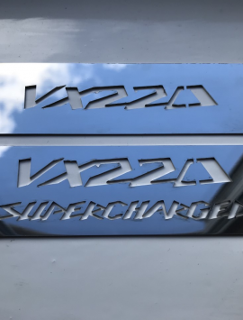 VX220 / Opel Speedster Coil Pack Plaque