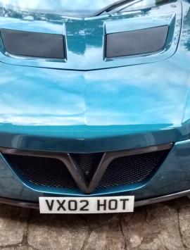 VX220 / Opel Speedster front 'V' grill